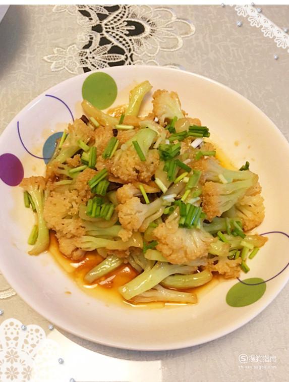 酱炒花菜的家常做法