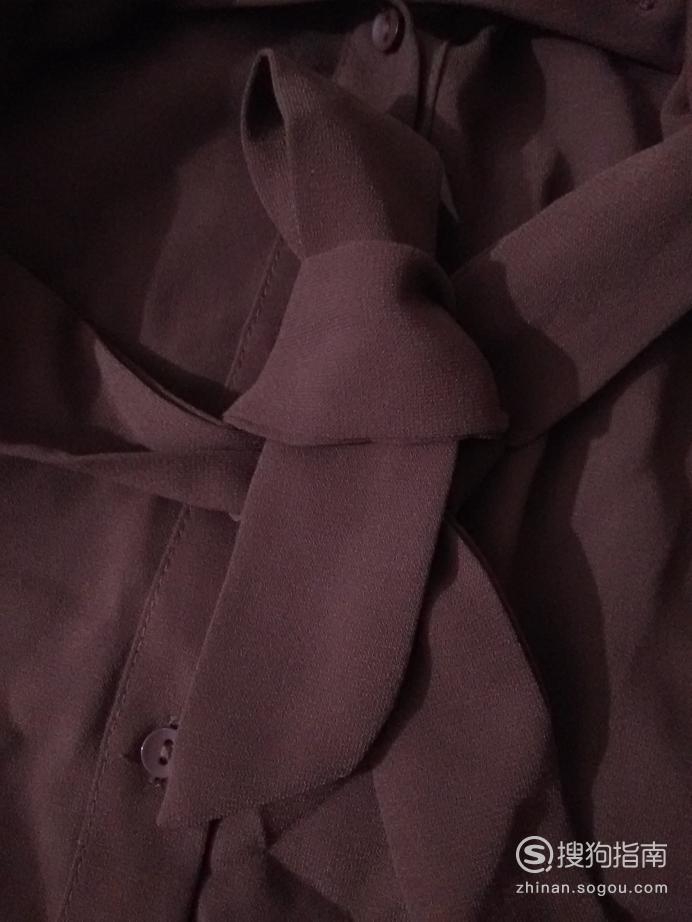 腰带不够长怎么办--半边蝴蝶结系法