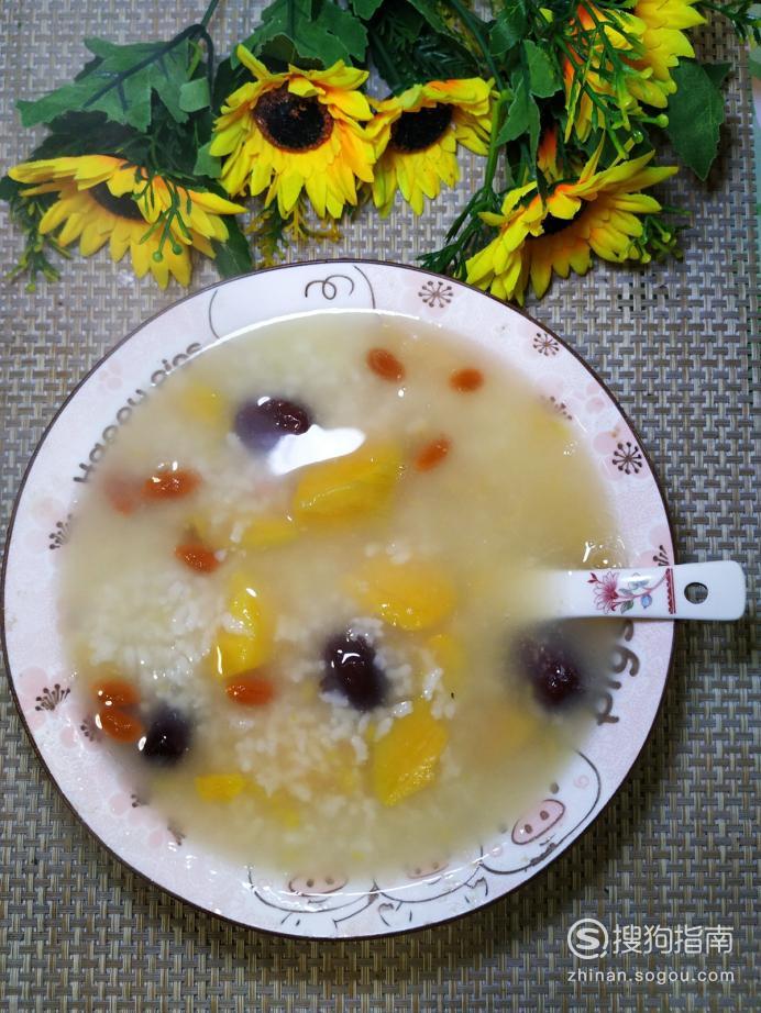 怎样做美味的大枣枸杞红薯粥?