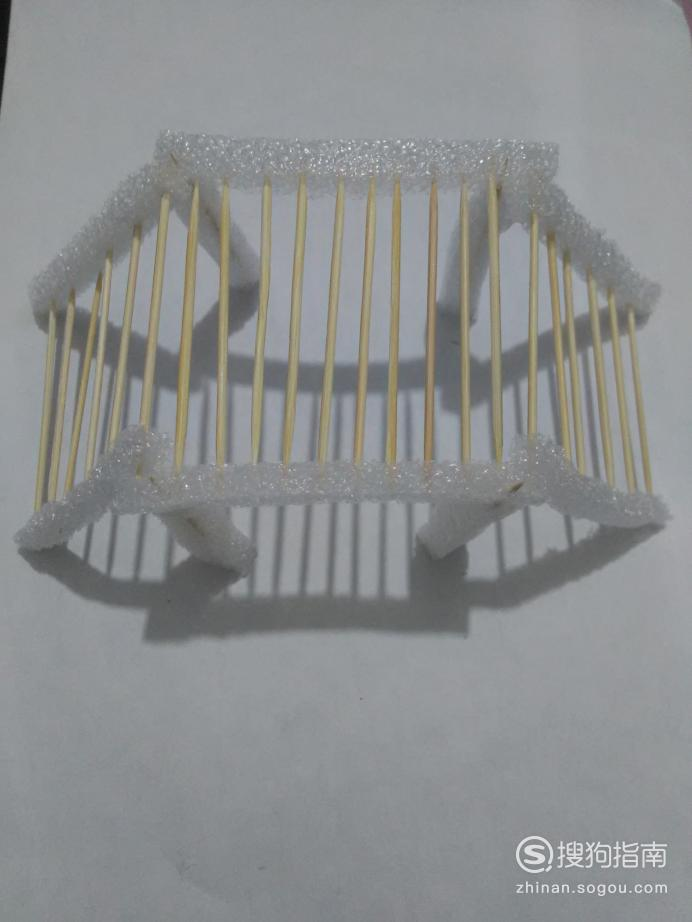 牙签桥的制作方法