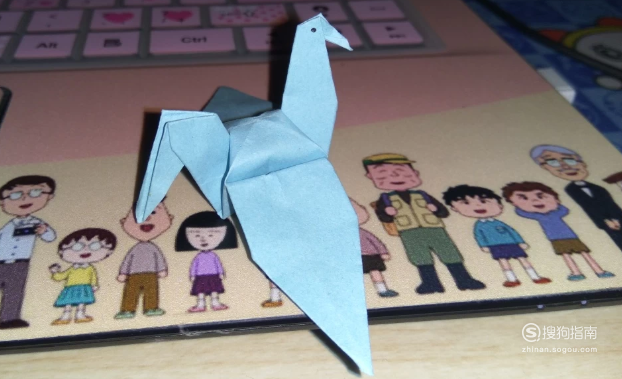 千纸鹤的简单折法之图文并茂