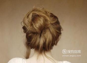 丸子头的盘发方法