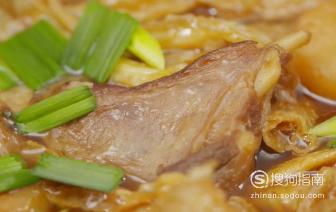 怎么做枝竹羊腩煲?