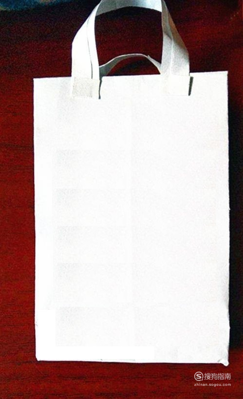 手工制作方底纸袋