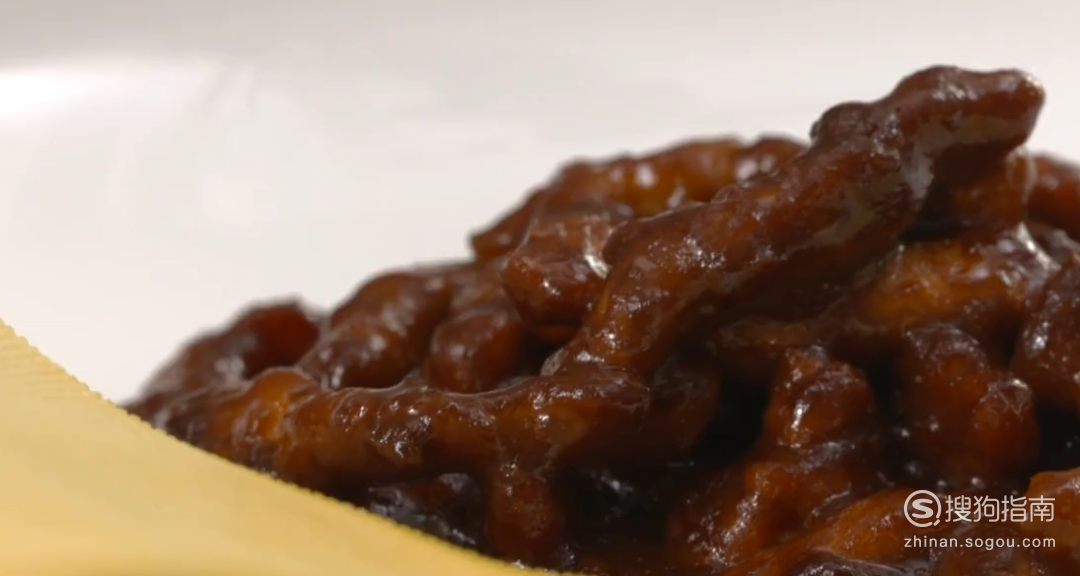 京酱肉丝怎么做?
