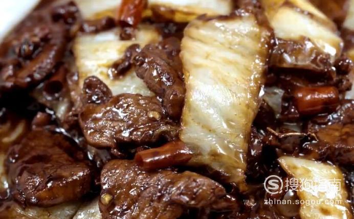 醋溜白菜里脊肉怎么做?