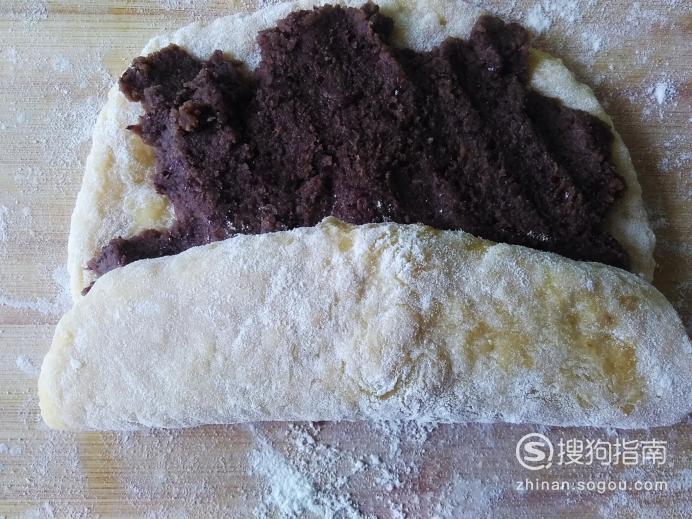 自做豆沙卷包的做法