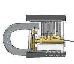 没有钥匙时怎么解开挂锁?