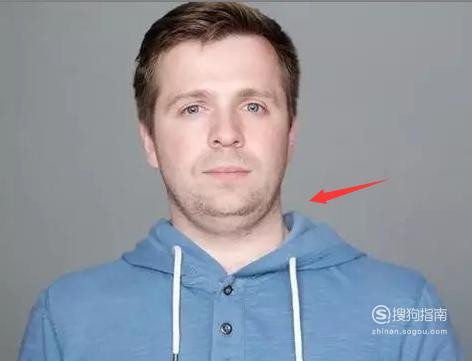 教你用Photoshop去掉双下巴