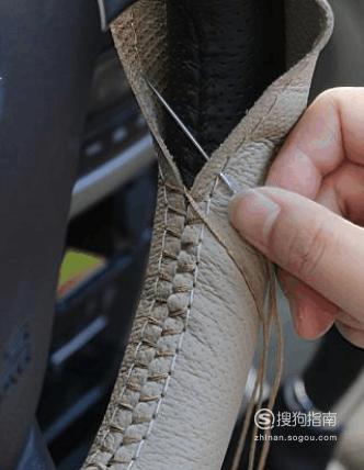 如何缝方向盘套