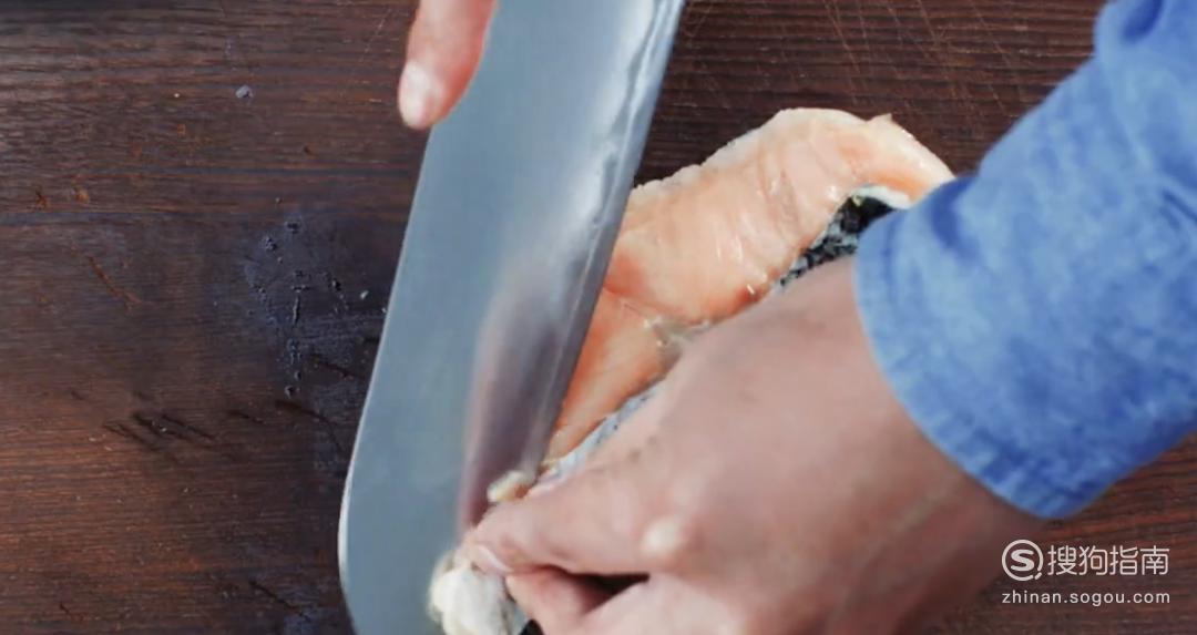烤三文鱼茶泡饭怎么做?